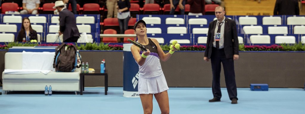 Bencic into WTA and Moscow Finals