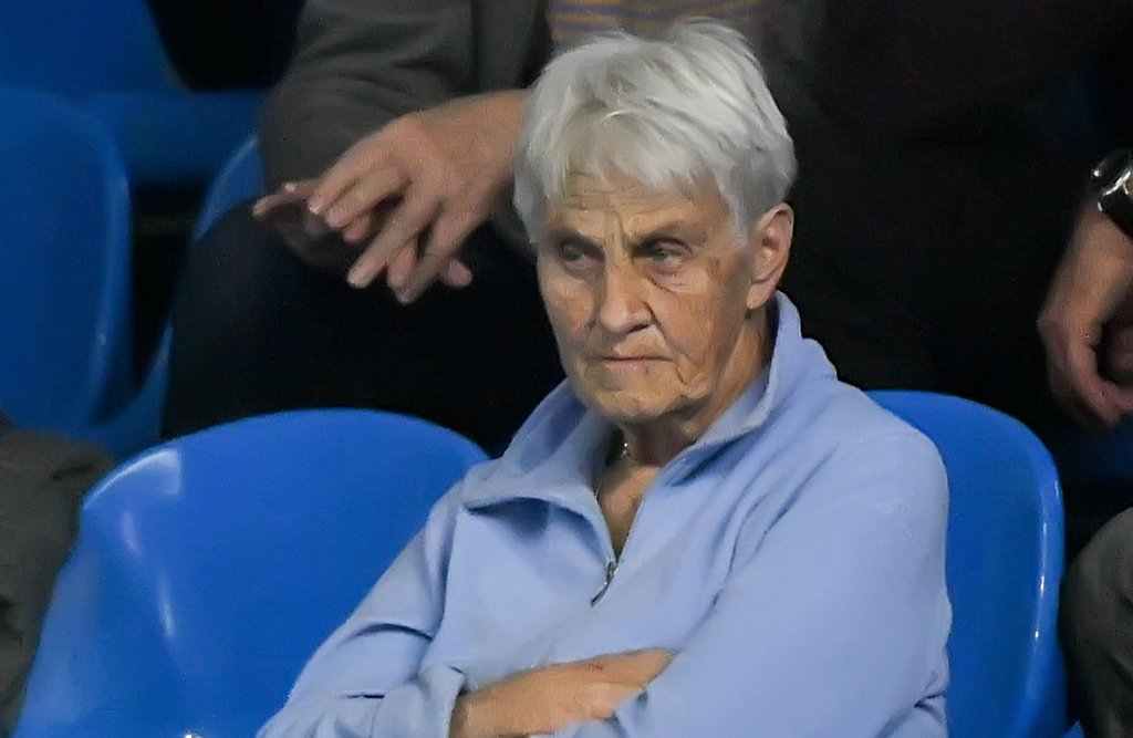 Legendary collector of tennis artefacts visited the «VTB Kremlin Cup»
