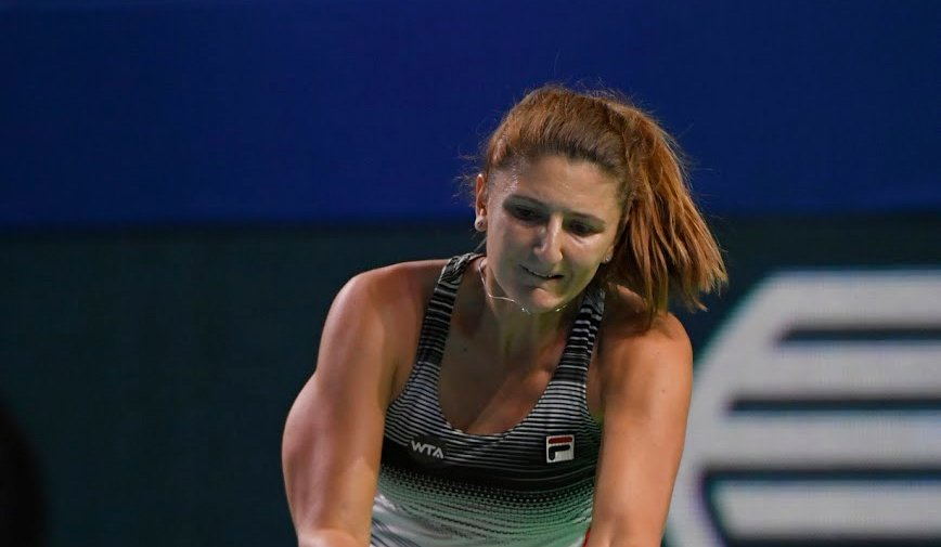 Irina-Camelia Begu from Romania will replace Dominika Cibulkova in main singles draw