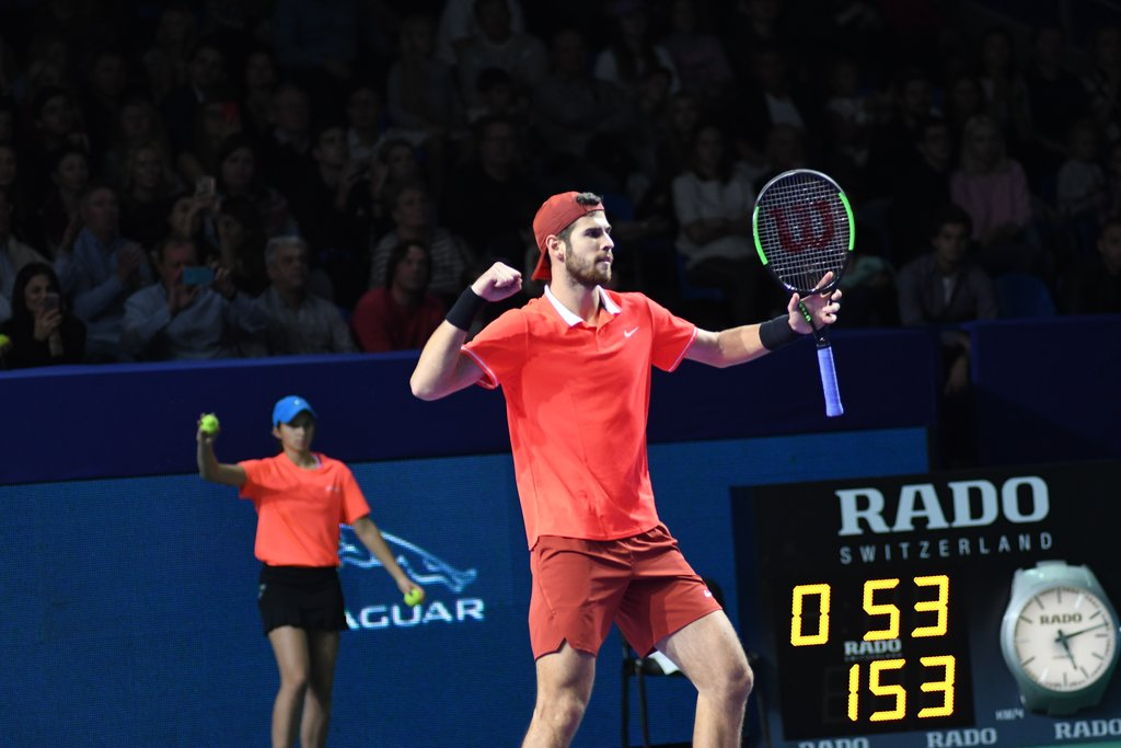Khachanov routs Mannarino in the VTB Kremlin Cup 2018 finals