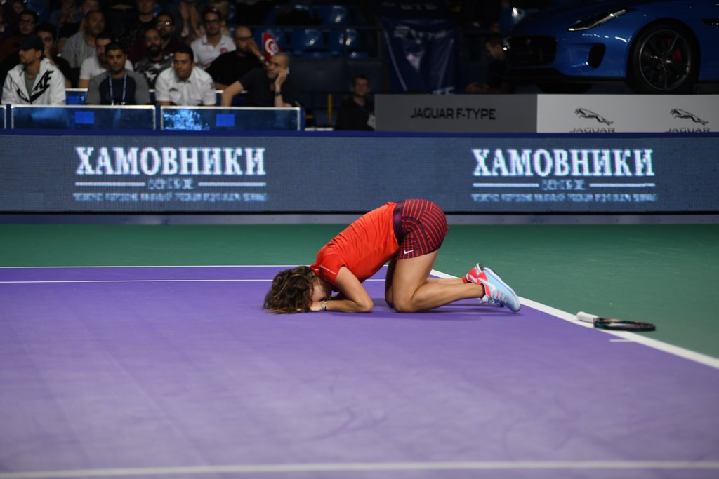 Daria Kasatkina wins the singles title at the 29th VTB Kremlin Cup