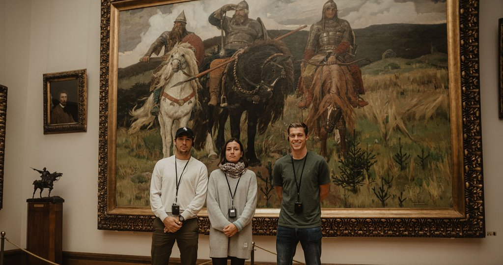 «VTB Kremlin Cup» 2019 players visited the Tretyakov Gallery