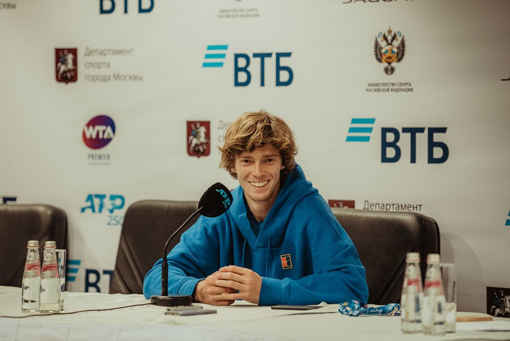 Andrey Rublev: «After I won this match, it was a load off!»