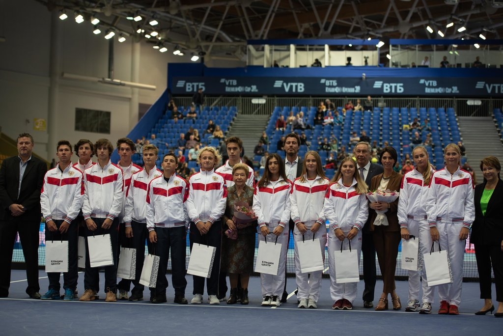 The award ceremony of the recipients of Boris Yeltsin Fund scholarship was held on the «VTB Kremlin Cup»