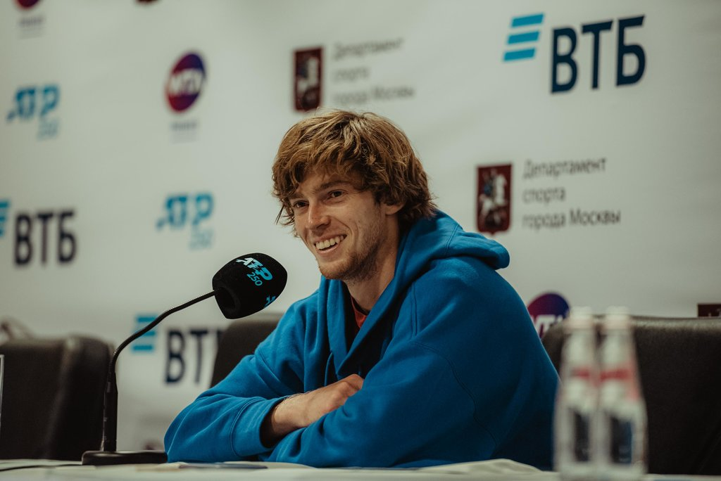 Andrey Rublev: «After the victory over Cilic I immediately texted to Karen Khachanov!»