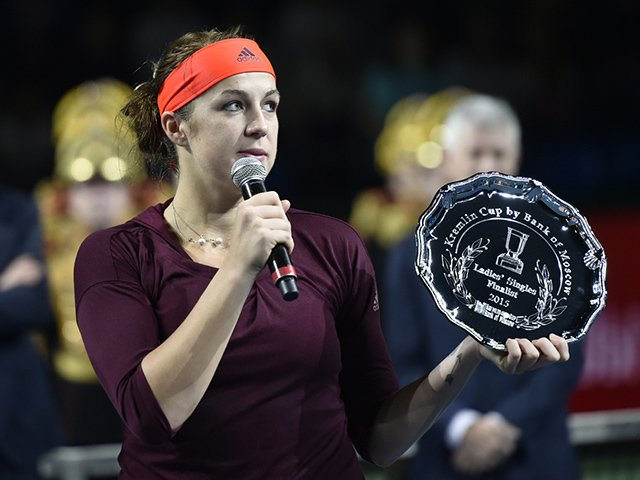 Pavlyuchenkova is coming to Moscow with a title!