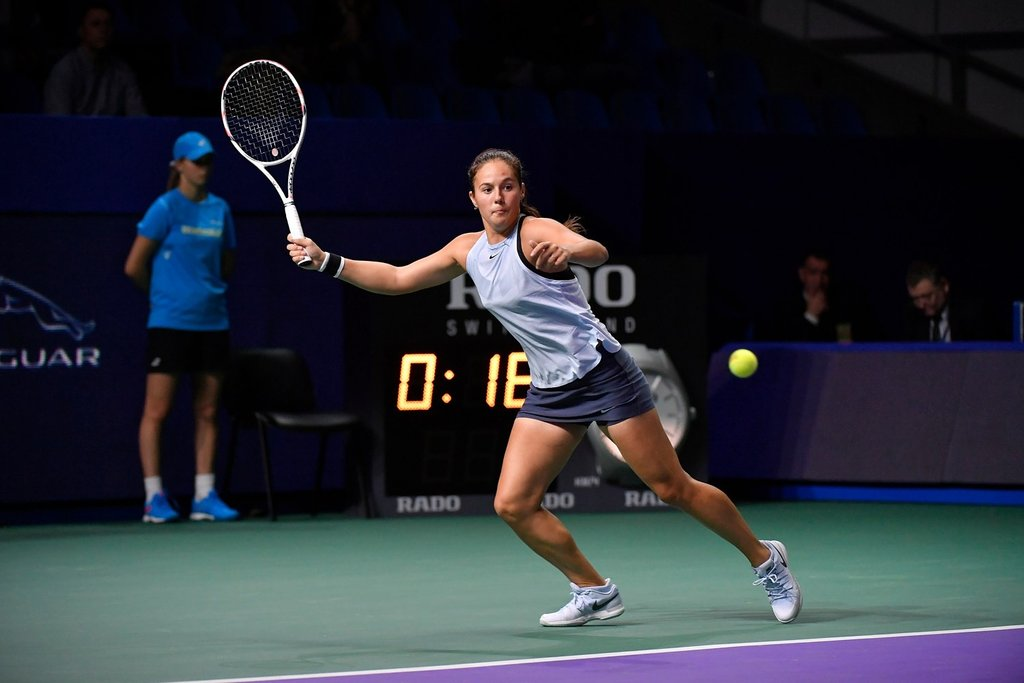 Kasatkina avenged her semifinals loss to Pavlyuchenkova in 2015