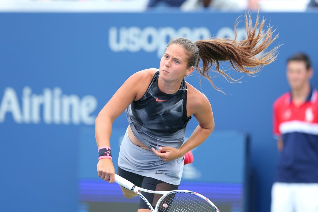 Daria Kasatkina is a candidate for WTA 'Shot of the Month' Award