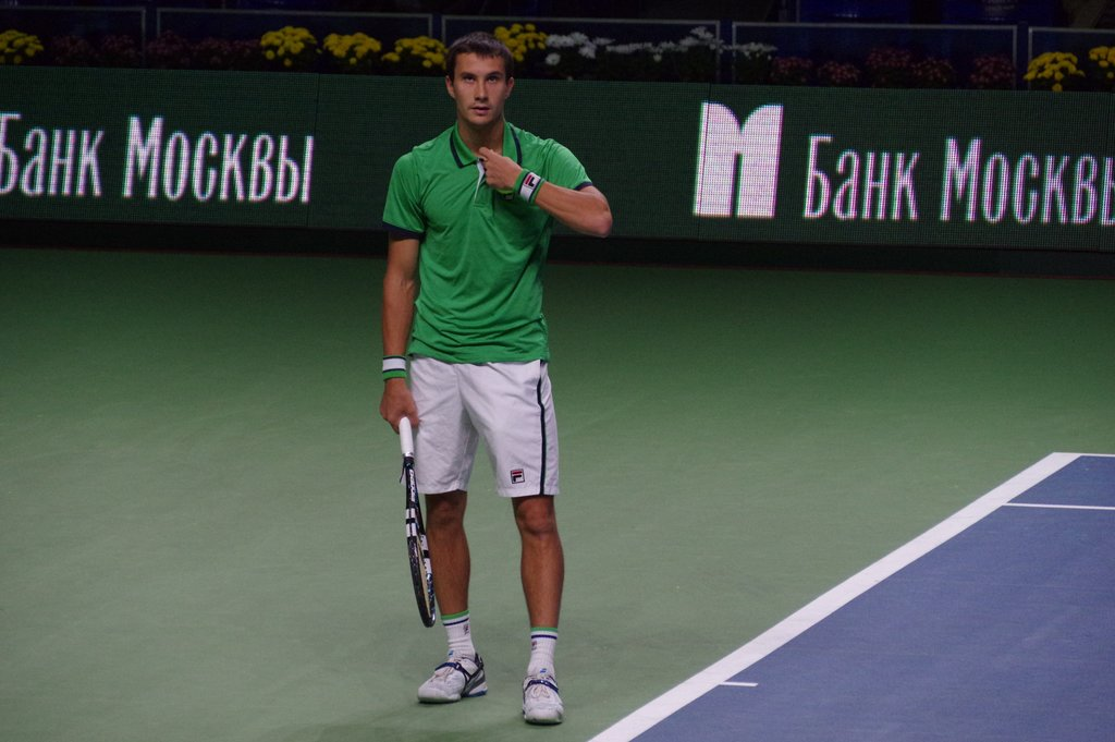 Evgeny Donskoy reaches quarterfinals