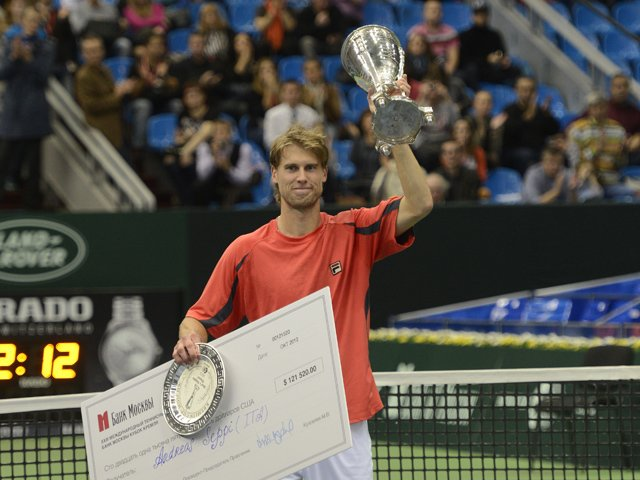 The Сhampion of Kremlin Cup 2012 to Face 4th Seed
