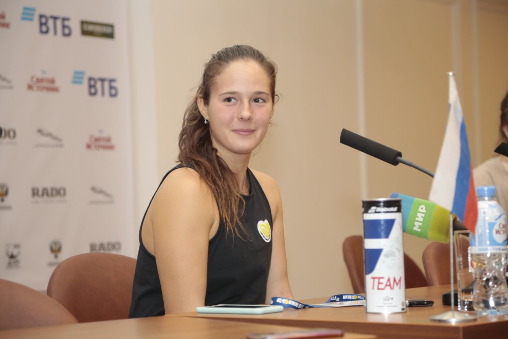 Daria Kasatkina: «Tomorrow I will come out on court and will try to play my best tennis!»