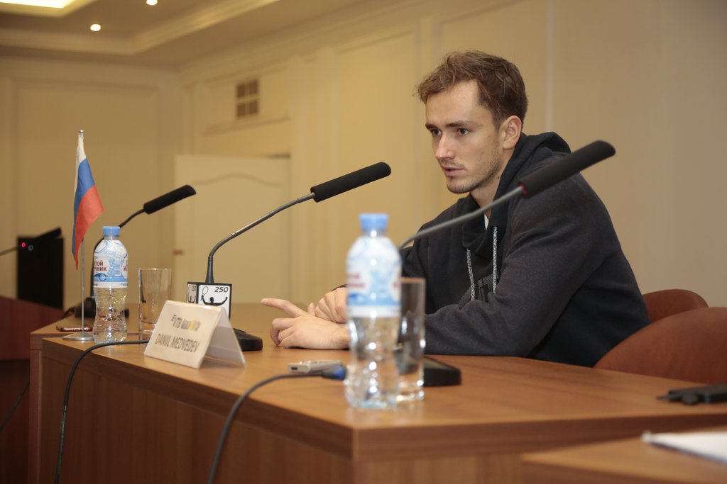 Daniil Medvedev: «I hope that tomorrow we will be able to find out who is the strongest!»