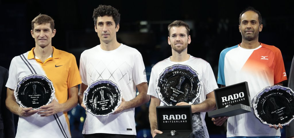 "Austin Krajicek and Rajeev Ram win the doubles title at ""VTB Kremlin Cup 2018"""