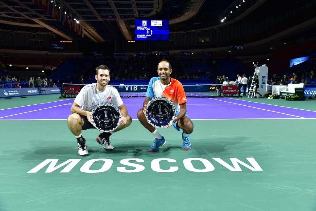 Krajicek and Ram – winners of «VTB Kremlin Cup 2018» in doubles