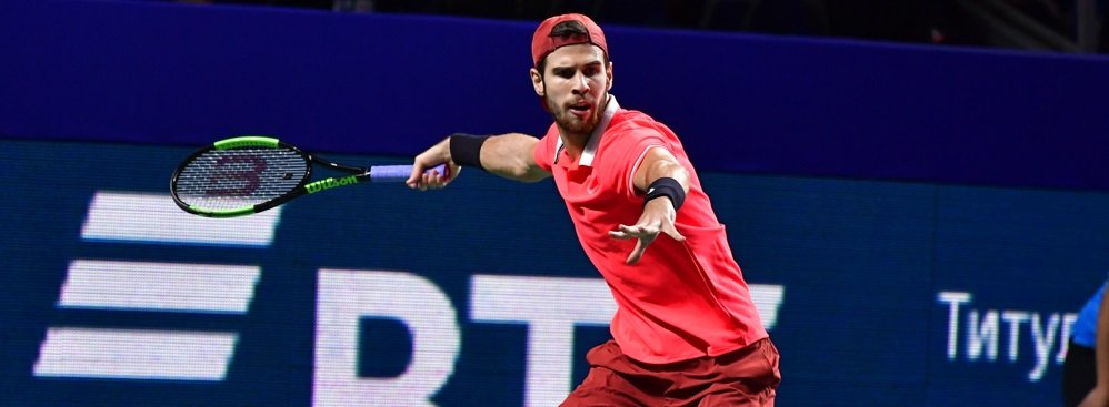 Khachanov will face Medvedev in an all-Russian SF