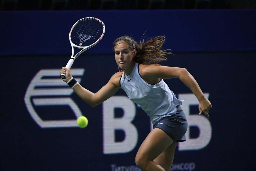 Kasatkina to face Sasnovich in the quarterfinals