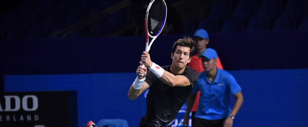 Bedene was the first to sail into second round
