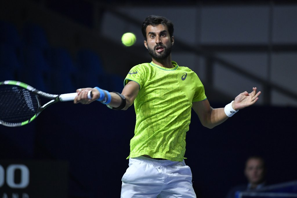 Qualifier Yuki Bhambri Knocks Roman Safiullin Out