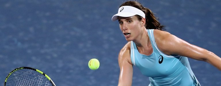 Konta knocks out 7th seed Mertens